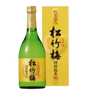 Cho-Tokusen Tokubetsu Junmai (Gold Flakes), Alc.15.5%