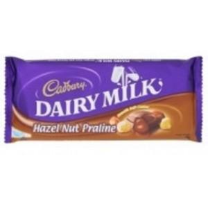 Cadbury M'sia Bar Hazelnut Praline 180g