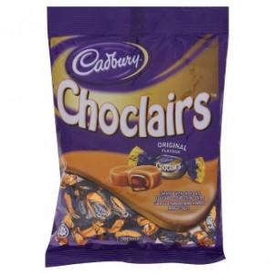 Cadbury Choclairs Caramel 100g