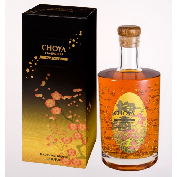 CHOYA Gold Edition - Kaimay Confectionery & Liqueur Smarties Box Design