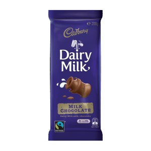 Cadbury Bar Dairy Milk 200g