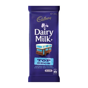 Cadbury Bar Dairy Milk Top Deck 200g