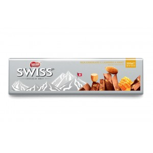 Nestle Swiss Milk Almond & Honey Tablet 300g