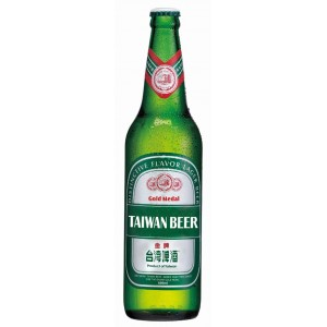 TTL Gold Medal Taiwan Beer 600ml Bottle, Alc.5%