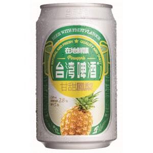 TTL Taiwan Pineapple Beer 330ml, Alc.2.8%