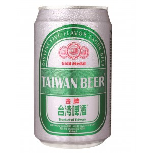 TTL Gold Medal Taiwan Beer 330ml (with 6's Paper Box) - White Label, Alc.5%