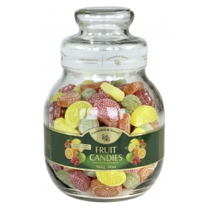 C&H Fruit Candies Jar 966g