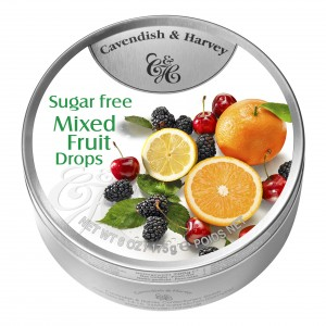 C&H Mixed Fruit Sugar Free Drops