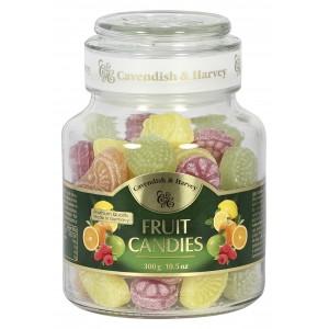 C&H Fruit Candies Jar 300g