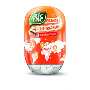 Tic Tac Bottle Orange T200
