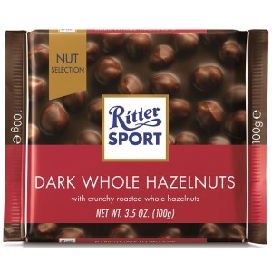 Ritter Sport Dark Whole Hazelnut 100g