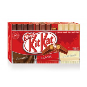 Kit Kat 4F Mix Pack 9x45g