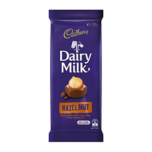 Cadbury Bar Hazelnut 200g