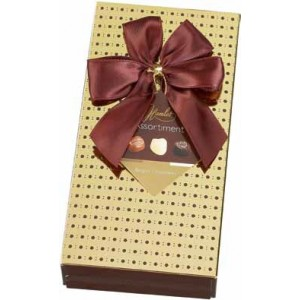 Hamlet Image Line Brown Box w Bow 125g