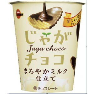 Bourbon Jaga Choco Milk Chocolate Potato Chips 36g