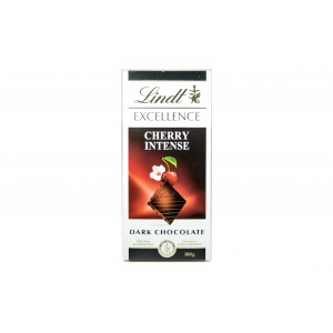 Lindt Excellence Cherry Dark Chocolate Tablet 100g
