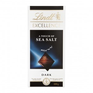 Lindt Excellence Sea Salt Dark Chocolate Tablet 100g