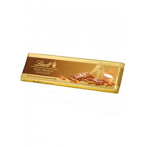 Lindt Gold Tablets Milk Almond 300g