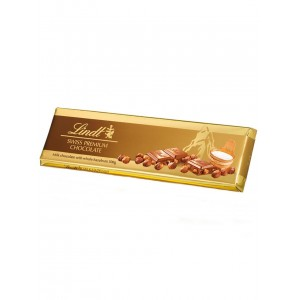 Lindt Gold Tablets Milk Hazelnuts 300g