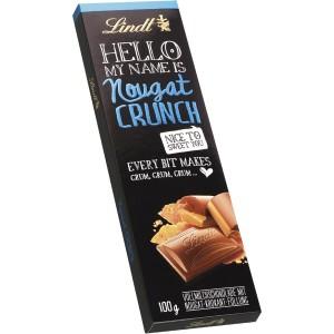 Lindt Hello Nougat Crunch 100g