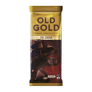 Cadbury Bar Old Gold 70% Cocoa 200g