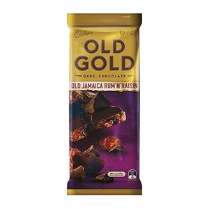 Cadbury Old Gold Jamaica Rum & Raisin 220g