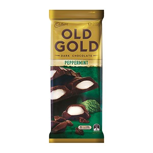 Cadbury Bar Old Gold Peppermint 200g