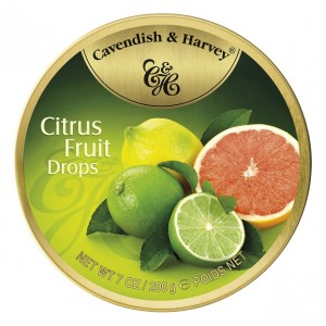 C&H Citrus Fruit Drops 200g