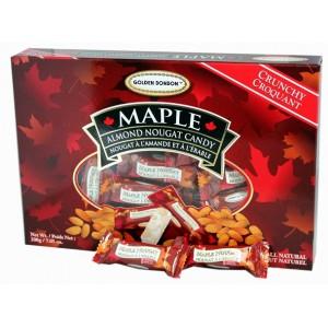 GBB Crunchy Almond Nougat - Maple 200g
