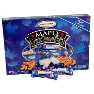 GBB Soft Almond Nougat - Maple 200g