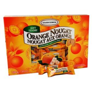 GBB Soft Almond Nougat - Orange Box 200g