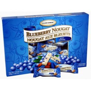 GBB Soft Almond Nougat - Blueberry Box 200g