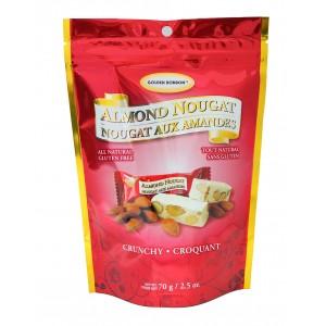 GBB Crunchy Almond Nougat 70g