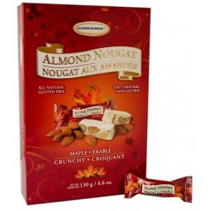 GBB Crunchy Almond Nougat - Maple Giftbox 130g