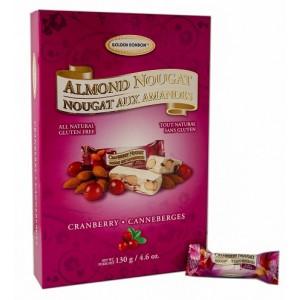 GBB Soft Almond Nougat - Cranberry Giftbox 130g