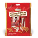 GBB Crunchy Almond Nougat Pieces 100g