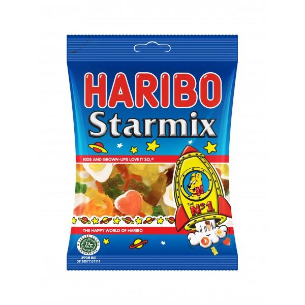 Haribo Starmix 160g - Kaimay Confectionery & Liqueur Smarties Box Design