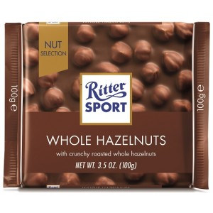 Ritter Sport Whole Hazelnut 100g