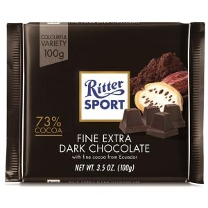 Ritter Sport Extra Fine Dark Chocolate 100g