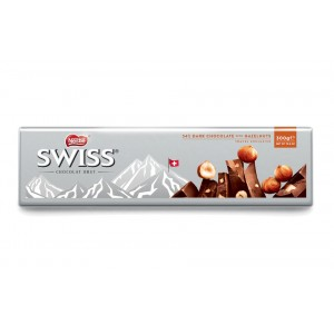 Nestle Swiss Dark Hazelnut Tablet 300g