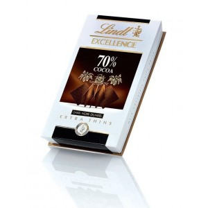 Lindt Thins Excellence 70% Cocoa 200g